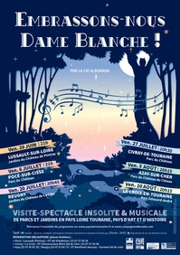 VISITE-SPECTACLE EMBRASSONS-NOUS DAME BLANCHE