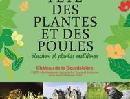 24 EME EDITION DE LA FÊTE DES PLANTES ET DES POULES AU CHÂTEAU DE LA BOURDAISIERE