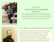 EXPOSITION EDOUARD ET RENÉ ANDRÉ A L'HONNEUR A LA PAGODE DE CHANTELOUP
